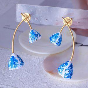 Tory Burch Vintage Flower Earrings